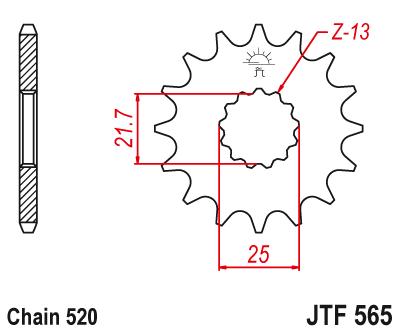 JT Rubber Cushioned Front Sprocket 15 Teeth fits Kawasaki W650 2006 EJ650