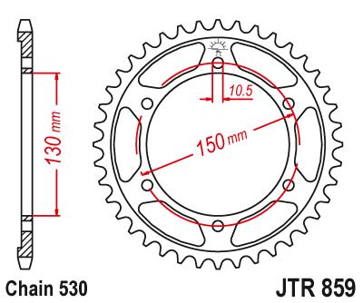 JT Sprockets JTR1792.45 Rear Sprocket