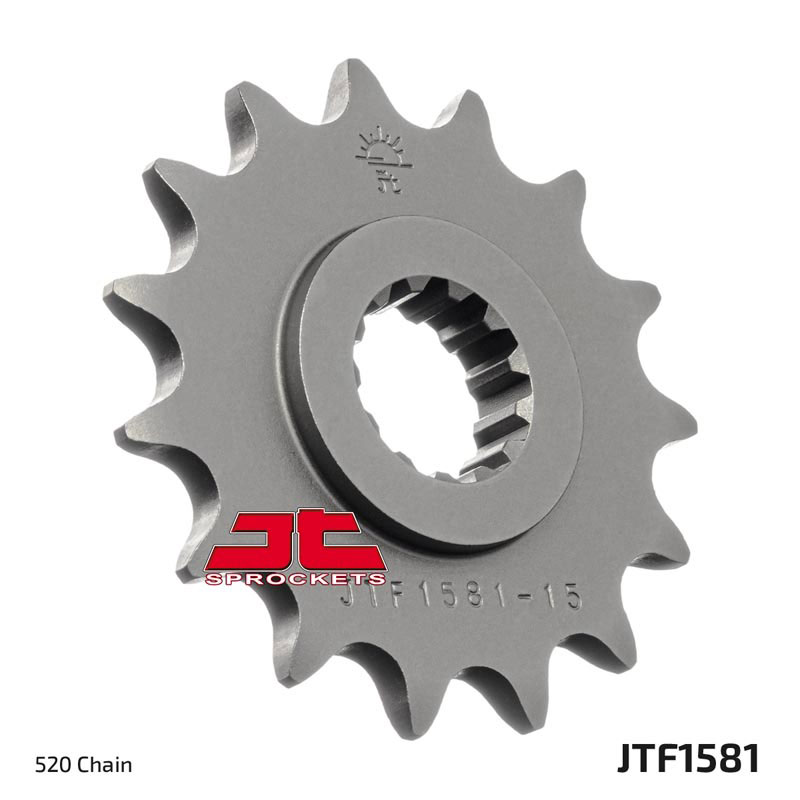 2015-2016 JT Sprockets Steel Rear Sprocket 520 Pitch 45T Husqvarna FE 501 S