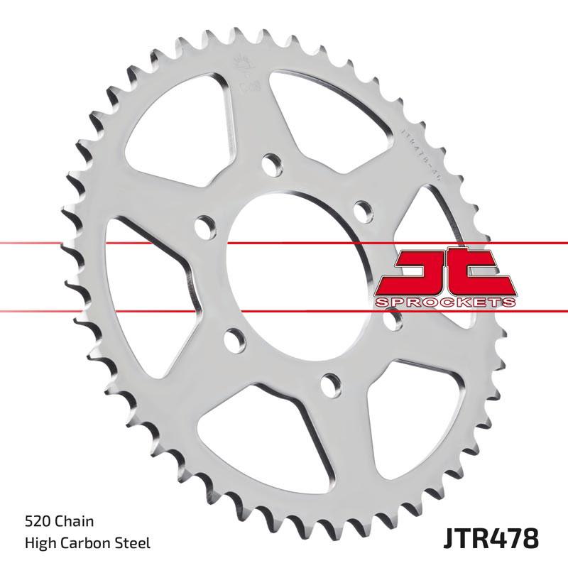 JT Rear Sprocket 35T 530P JTR476.35 Steel Kawasaki Z 440 A Ltd 1981